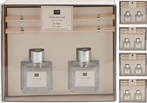 Reed Aroma Di Rogito Parfüm Öl Diffuser Lufterfrischer 2x 30ml