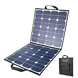 MOHOO Solarpanel 100W 5.5A 18V Solarzelle zusammenklappbar Solaranlage für Wohnmobil, Auto, Boot etc.