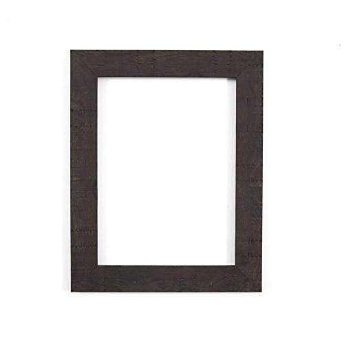 black-36-x-24-ready-to-hang-shabby-chic-rustic-wood-grain-picture-photo-frame-with-high-clarity-styr