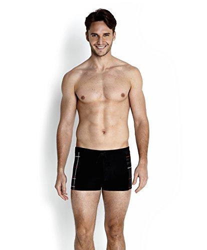 Speedo oceanfeel maillot de bain pour homme aquashorts print 2 Noir - Blk/Usa Cha/White/Grey