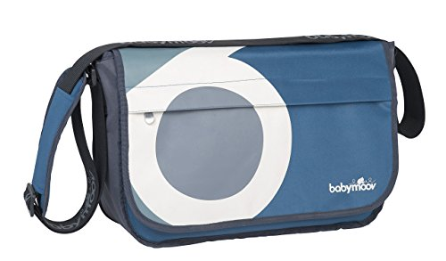 Babymoov A043548 Wickeltasche Messenger Bag, petrol