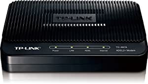 TP-Link TD-8616 Modem ADSL2+/ 1 port Ethernet/ bridge mode