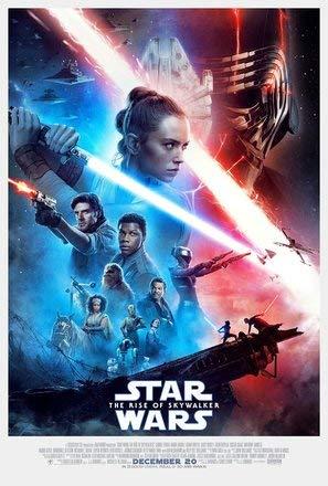 Star Wars : Episode IX Rise of Skywalker - Film Poster Plakat Drucken Bild - 43.2 x 60.7cm Größe Grösse Filmplakat