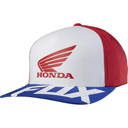 gorra-flexfit-visera-redondeada-fox-honda-rojo-blanco-s-m-rojo