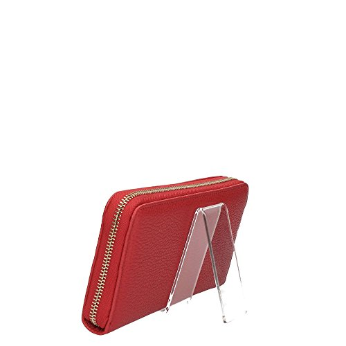 PORTAFOGLIO PATRIZIA PEPE ZIP AROUND 2V3692 AV63-H278 MATT RED-DARK GRAY H278 Matt Red/Dark Gray Sneakernews Despacho Venta Barata Éxito De Ventas NRtxLgbE