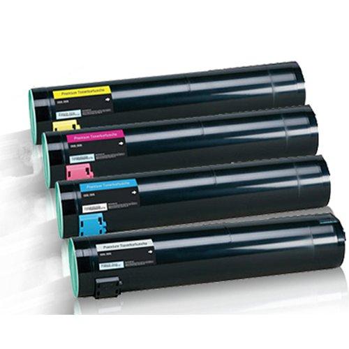 4x Kompatible Tonerkartuschen für Lexmark C935DN C935 DN C935 DTN C935DTN C935DTTN C935 DTTN C935HDN C935 HDN Black Cyan Magenta Yellow - Sparset -