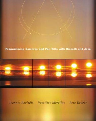 Pan-tilt-system (Programming Cameras and Pan-Tilts With Directx and Java)
