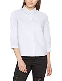 ONLY Damen Bluse Onlsimey 3/4 Shirt Box Wvn