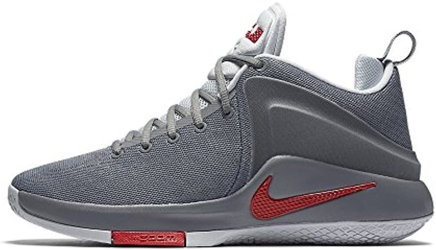 Nike Zoom Witness - cool grey/university red-pure