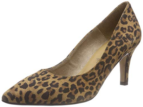Tamaris 22472-21, Escarpins Femme, Marron (Leopard 360), 38 EU