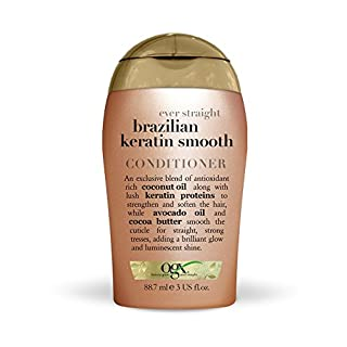 ogx Travel Ever Straight Brazilian Keratin Smooth Conditioner, 88,7 ml