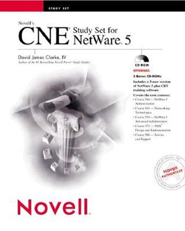 Novell's CNE Study Set for Netware 5 por David James Clarke