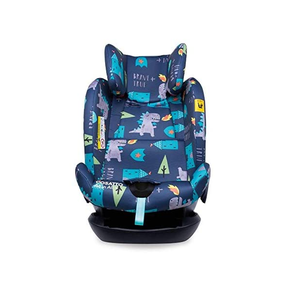 Cosatto CT4262 All in All + Group 0+123 Car Seat Dragon Kingdom (5PP 8.9 kg Cosatto Extended rear facing Suitable for all stages Extra security 8