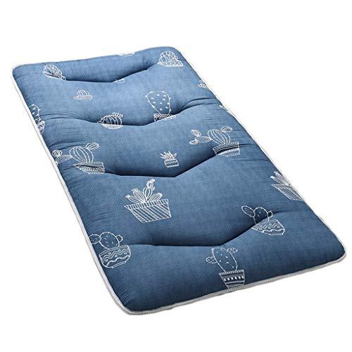 Floor Sleeper Faltbare feuchtigkeitsbeständige Dicke Bodenmatte Tatami Matratze Lazy Bed (Color : A2, Size : 1350mm × 1900mm) -