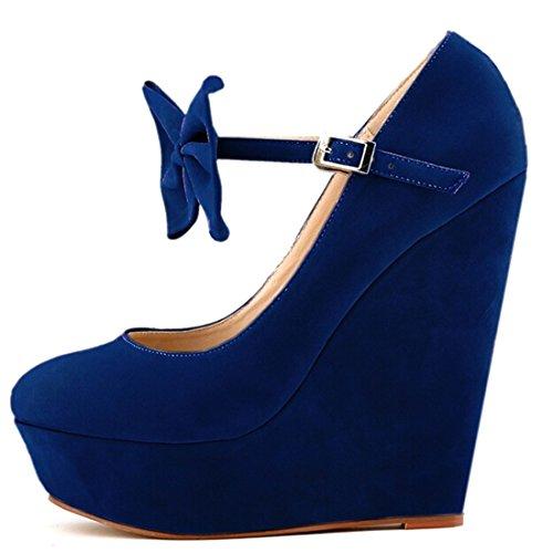 Azbro, Sandali donna Blu