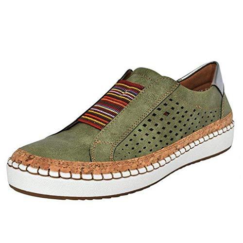 Mocasines Mujer Casual Zapatillas Sin Cordones Loafers