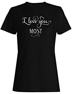 Te Amo Mas camiseta de las mujer