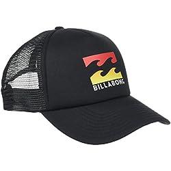 BILLABONG Podium Trucker-Gorra para Hombre, Hombre, Gorra, C5CT01, Black Multi, Talla única