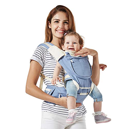 Mondeer Baby Carrier Hip Seat,Ergonomic Design for Infants,Cozy Seat and  All- ae5d26363a2