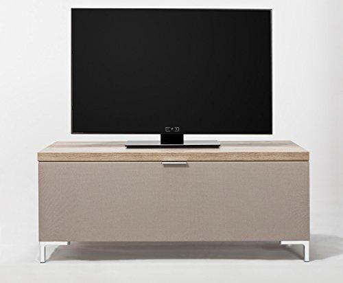 CS Schmalmöbel 45.150.222/010 TV-Board Cleo Typ 10, 109 x 50 x 47 cm, wildeiche mit Stoffklappe - 3