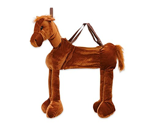 Vinco 52321 Fancy Dress Pferd Kostüm, dunkelbraun, 78 x 58 cm