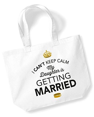 Bolsa para madre de la novia, bolsa de boda, madre de la novia, recuerdo, regalo, despedida de soltera, boda, para despedida, tela, Blanco, large
