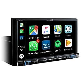 Alpine ILX 702D Bluetooth Black Car Media Receiver Car Media Receiver (DAB +/FM/LW/MW, 87.5–108MHz, 281kHz, 17.8cm (7)–800x 480pixels, LCD)