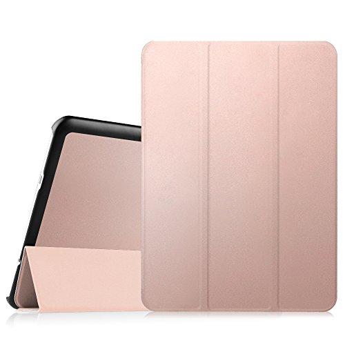 Fintie Hülle für Samsung Galaxy Tab S2 9.7 T810N / T815N / T813N / T819N 24,6 cm (9,7 Zoll) Tablet-PC - Ultra Schlank Ständer Cover Schutzhülle mit Auto Schlaf/Wach Funktion, Roségold