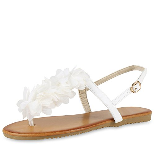 napoli-fashion - Infradito Donna Weiss Creme