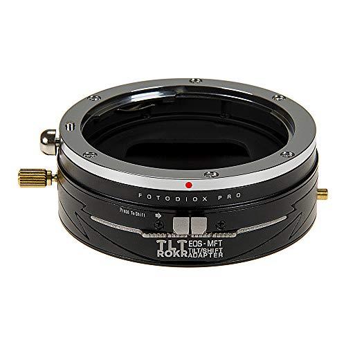 Fotodiox Pro Tlt Rokr Tilt/Shift Lens Mount Adapter for Canon EOS (EF/EF-S) D/SLR Lenses to Micro Four Thirds (MFT, M4/3) Mount Mirrorless Camera Body Tilt-adapter
