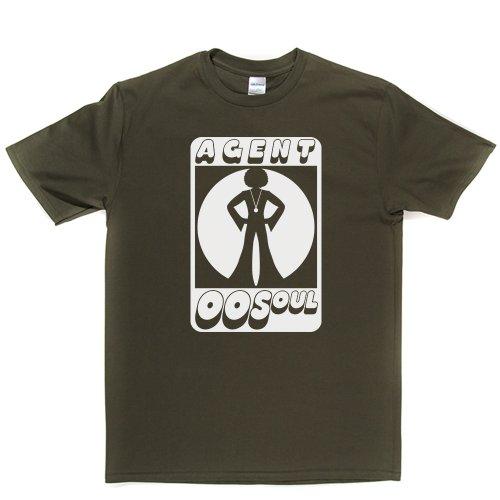 Agent 00 Soul Music T-shirt Militärgrün