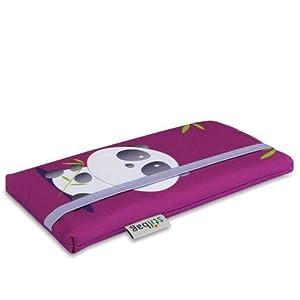 Stilbag maßgeschneiderte Handyhülle MIKA   Design: Bamboo Panda   Smartphone-Tasche aus Polyester   Handy Schutzhülle   Handytasche Made in Germany