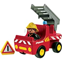 Playmobil 6716 1.2.3 Fire Engine