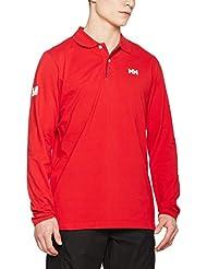 Helly Hansen 54416 Polo, Hombre, Rojo (Red), L