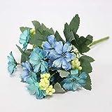 ZTTLOL Simulation Kleine Chrysantheme Kosmos Künstliche Seidenblumen Für Hochzeitsfotografie Wohnkultur Dekoration
