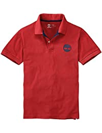 Timberland - Polo - Homme Rouge Rouge