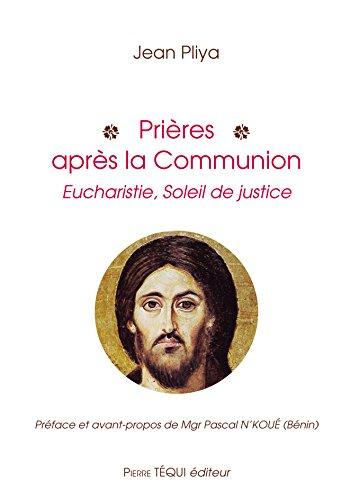 Prières après la communion