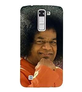 Sathya Sai Baba 3D Hard Polycarbonate Designer Back Case Cover for LG K10 :: LG K10 Dual SIM :: LG K10 K420N K430DS K430DSF K430DSY