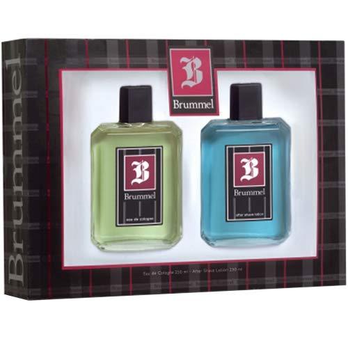 Puig Brummel Set de regalo para hombre, 250 ml/250 ml, 2 piezas