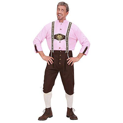 Widmann 73463 - Kostüm Seppl, Shirt und Hose, Gröߟe L