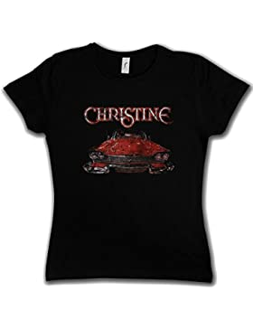 Urban Backwoods Christine Car Woman Girlie Donna T-Shirt - La Macchina Infernale Stephen Auto 58erPlymouth Fury...
