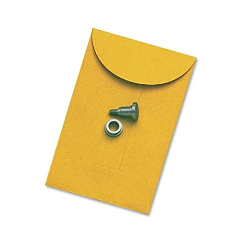 Kraft Coin & Small Parts Envelope, Side Seam, #1, Light Brown, 500/Box