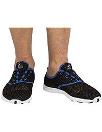 Cressi 1946 Aqua Shoes Zapatos Deportivo para Uso Acuático, Negro/Azul, 43