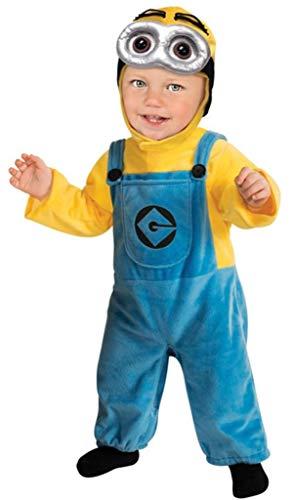 Mädchen Kostüm Kleinkind Minion - Baby Mädchen Jungen Kleinkinder Verächtlich Mir Diener Kostüm Kleid Outfit 1-2 Jahre 12-24 Monate