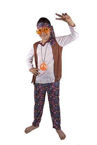 Costumizate! Hippie Kostüm Verschiedene Größen für Kinder Kostümpartys oder ()