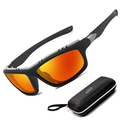 1262cfca59 Perfectmiaoxuan Gafas de Sol polarizadas para Hombre Mujer/Golf de Pesca  Fresco Ciclismo El Golf Conducción Pescar Alpinismo Deportes al Aire Libre  Gafas de ...