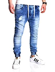 MT Styles Jogging-Jeans style vintage pantalon RJ-2083
