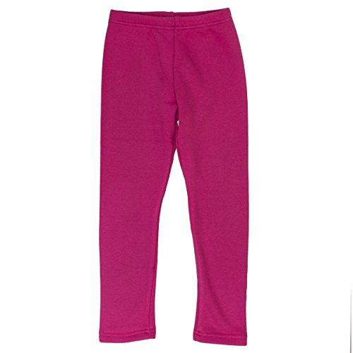SALT AND PEPPER Mädchen Leggings Leggins Basic Thermo, Pink (Paradise Pink Melange 842), 92/98