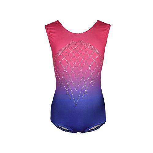 Bornbayb Gymnastikanzug für Kinder, Mädchen Ballett Gymnastik Kostüm Kinder Workout Bekleidung (Gymnastik Kostüme Für Kinder)