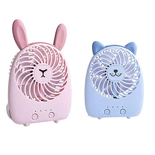 Haiyemao Dispositivos Mini Ventiladores de Mano